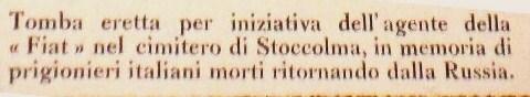 stoccolma 1920testo