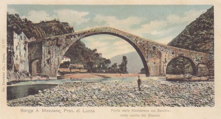 o-ponte-della-maddalena-sui-serchio-detto-del-diavolo-dos-simple-2-scans-edition-trenkler